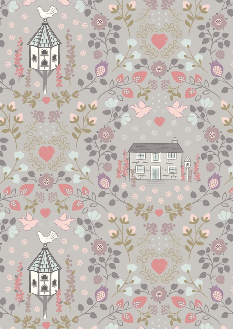 A165.3 - Dove house on warm grey