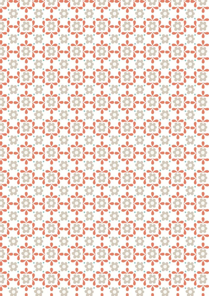 A106.2 - Linen daisy on white
