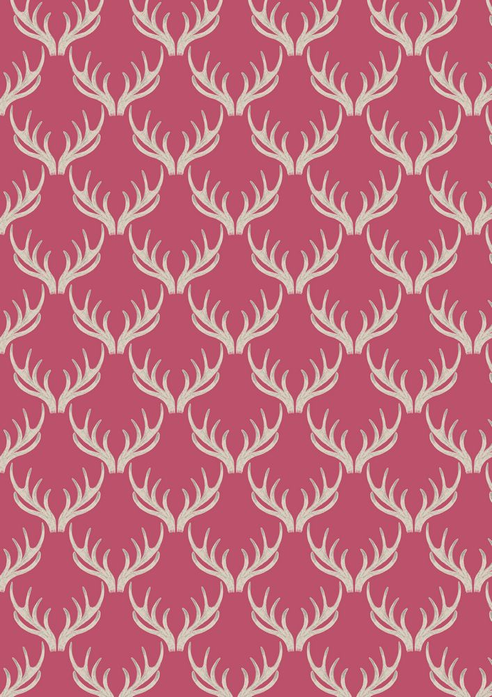 A157.2 - Antlers on rose