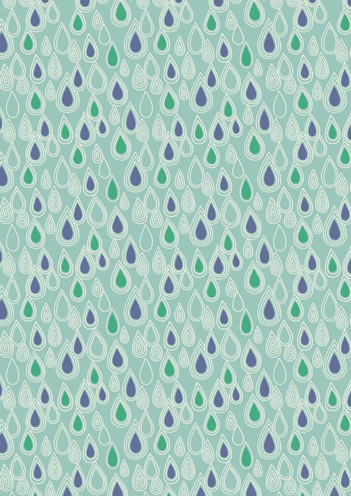A73.3 - Raindrops on aqua