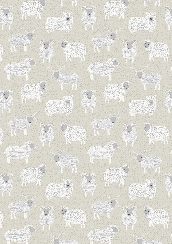 A94.2 - Woolly sheep on natural