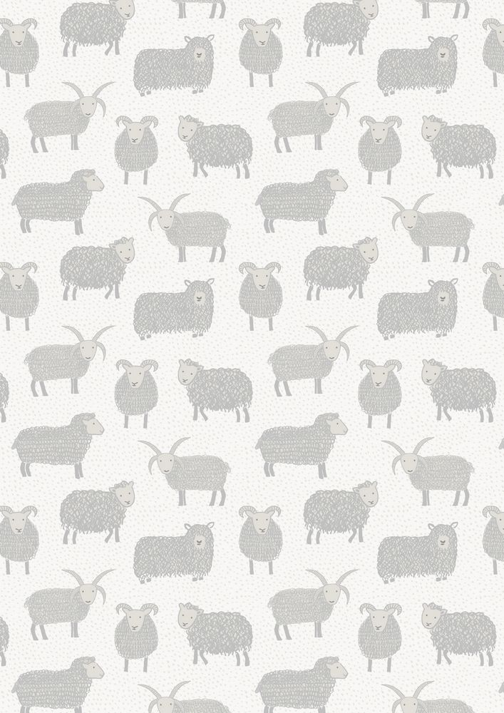 A94.3 - Woolly sheep on snow