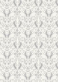 A64.4 - Little hares grey on white