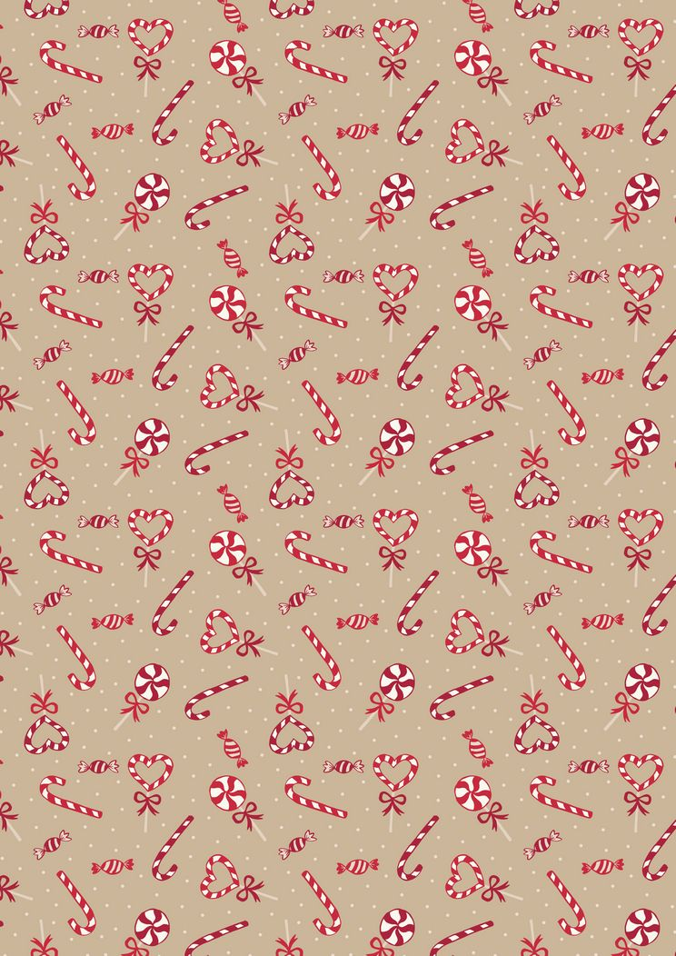 SMC7.2 - Candy canes on biscuit