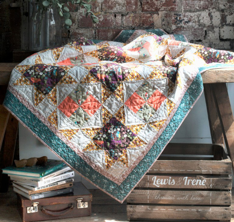 The Hedgerow Brochure Quilt