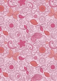 A261.2 - Floral flow on peaceful pink