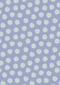 A264.1 - Flower mandalas on lilac