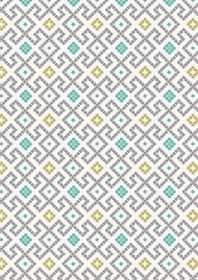 A267.1 - Grey Greek tiles with gold