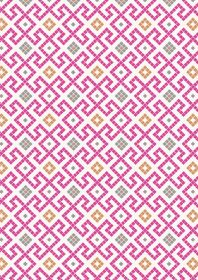 A267.2 - Pink Greek tiles with copper