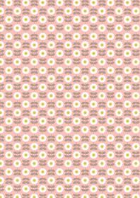 A274.3 - Retro daisy on pink
