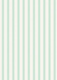 A287.1 - Mint ticking stripe