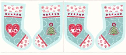 C31.1 - Hygge stockings icy blue