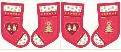 C31.3 - Hygge stockings Christmas red