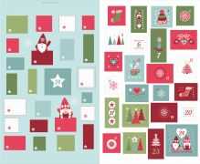 C32.1 - Hygge Christmas Advent Calender Icy blue
