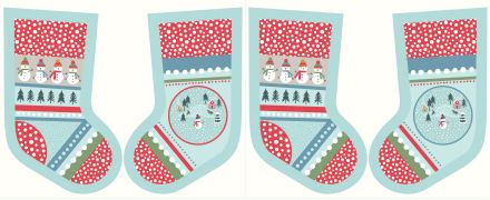 C39.1 - Snow day stockings icy blue
