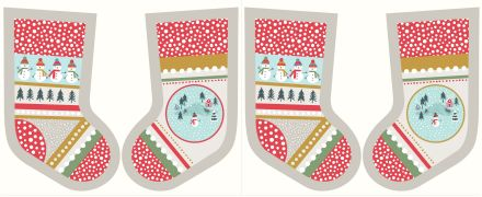 C39.2 - Snow day stockings cream