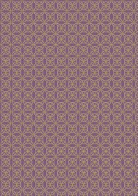 A334.3 Heather celtic knot with gold metallic