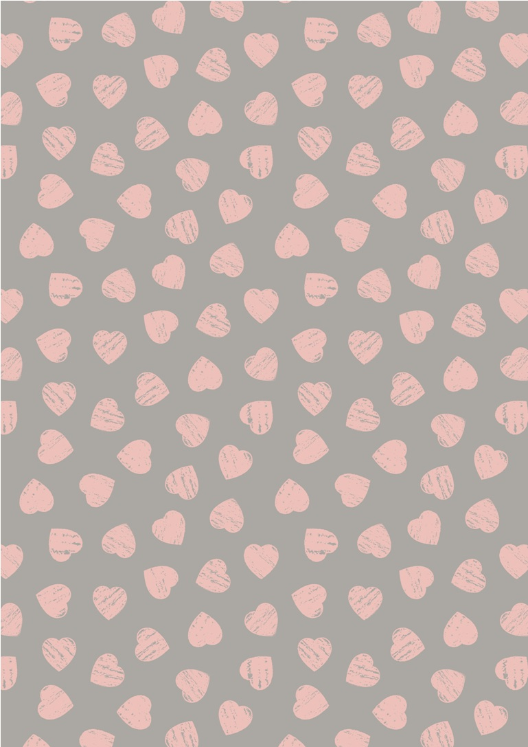 A168.3 - Pink hearts on dove