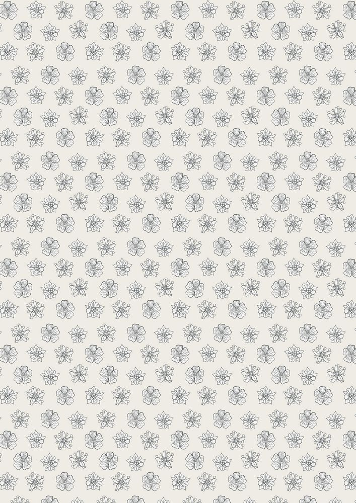 A122.1 - Cream small floral heads