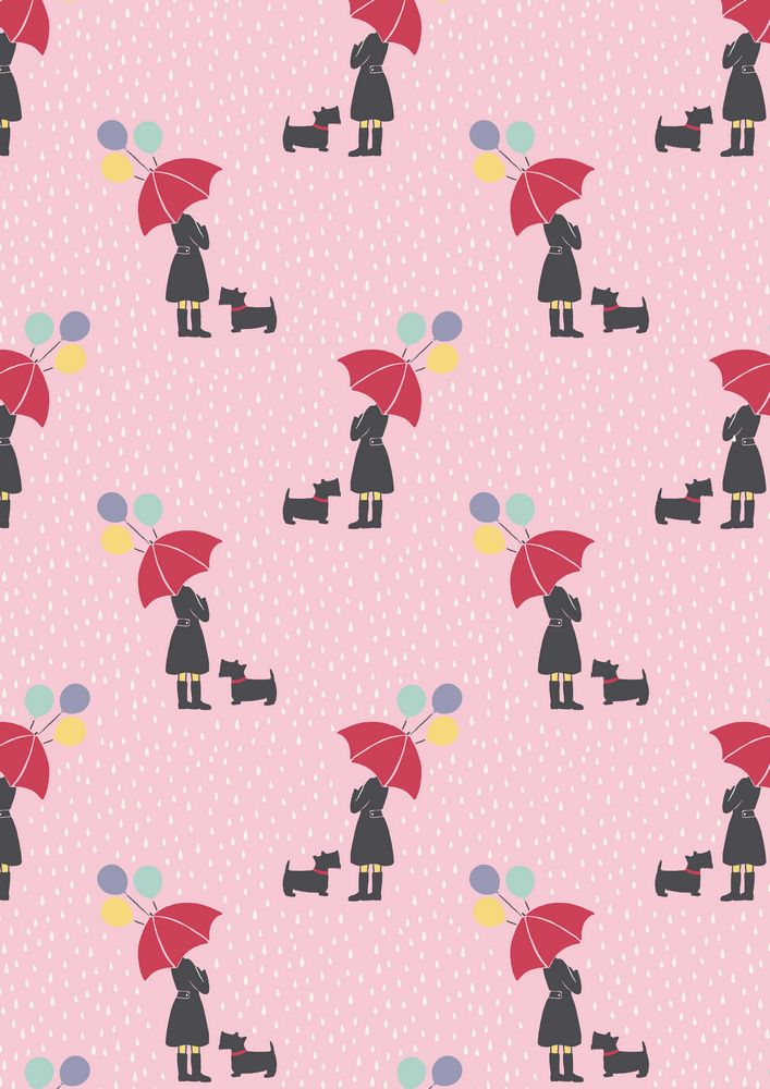 A72.3 - April showers on pink