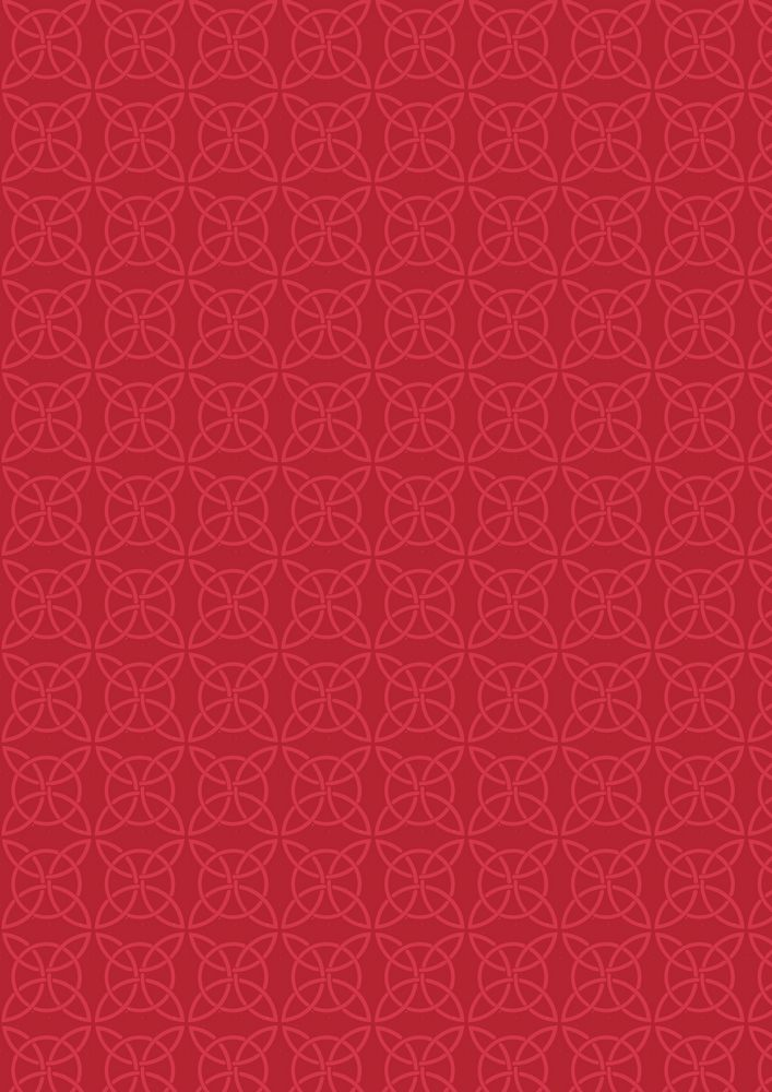 A85.2 - Celtic circles on red