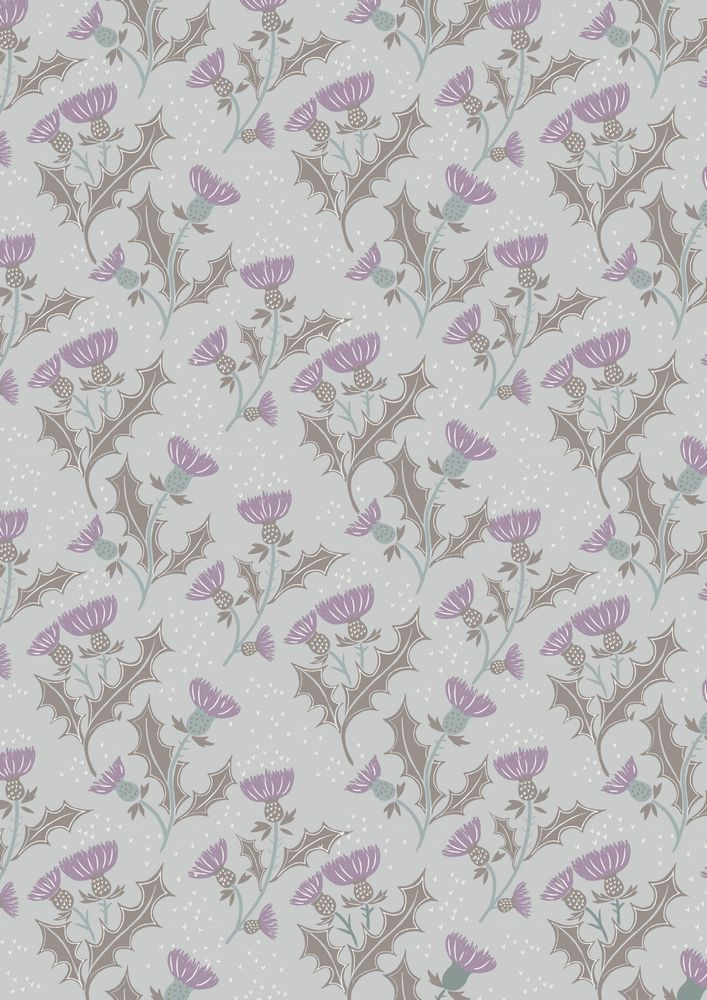 A89.1 - Thistle on light grey