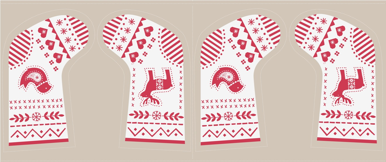C10.2 - Red & white stocking