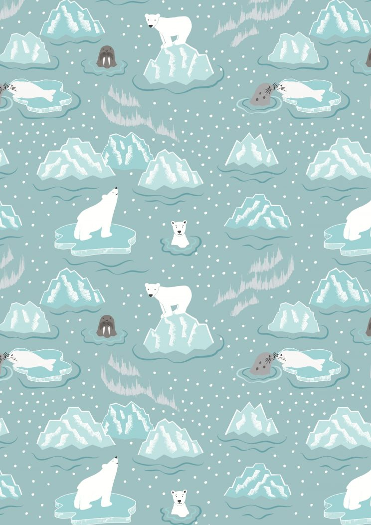 C3.1 - Walrus & friends on icy grey