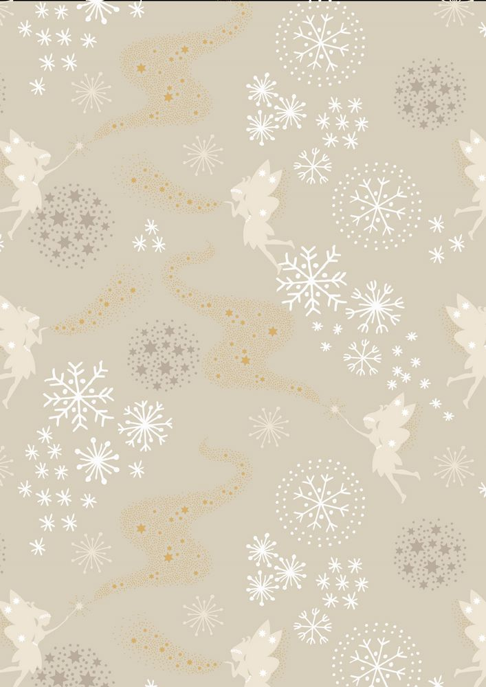 CHR6.1 - Little fairies on winter mist (metallic)