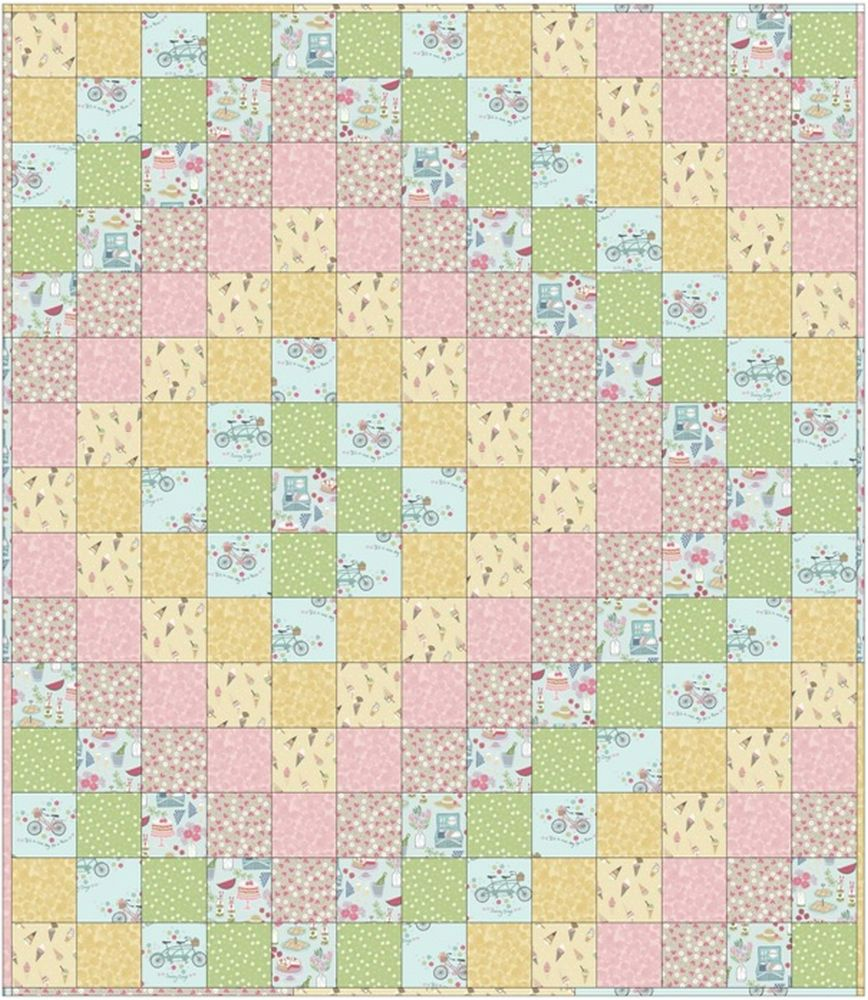 picnic in the park quilt design 3