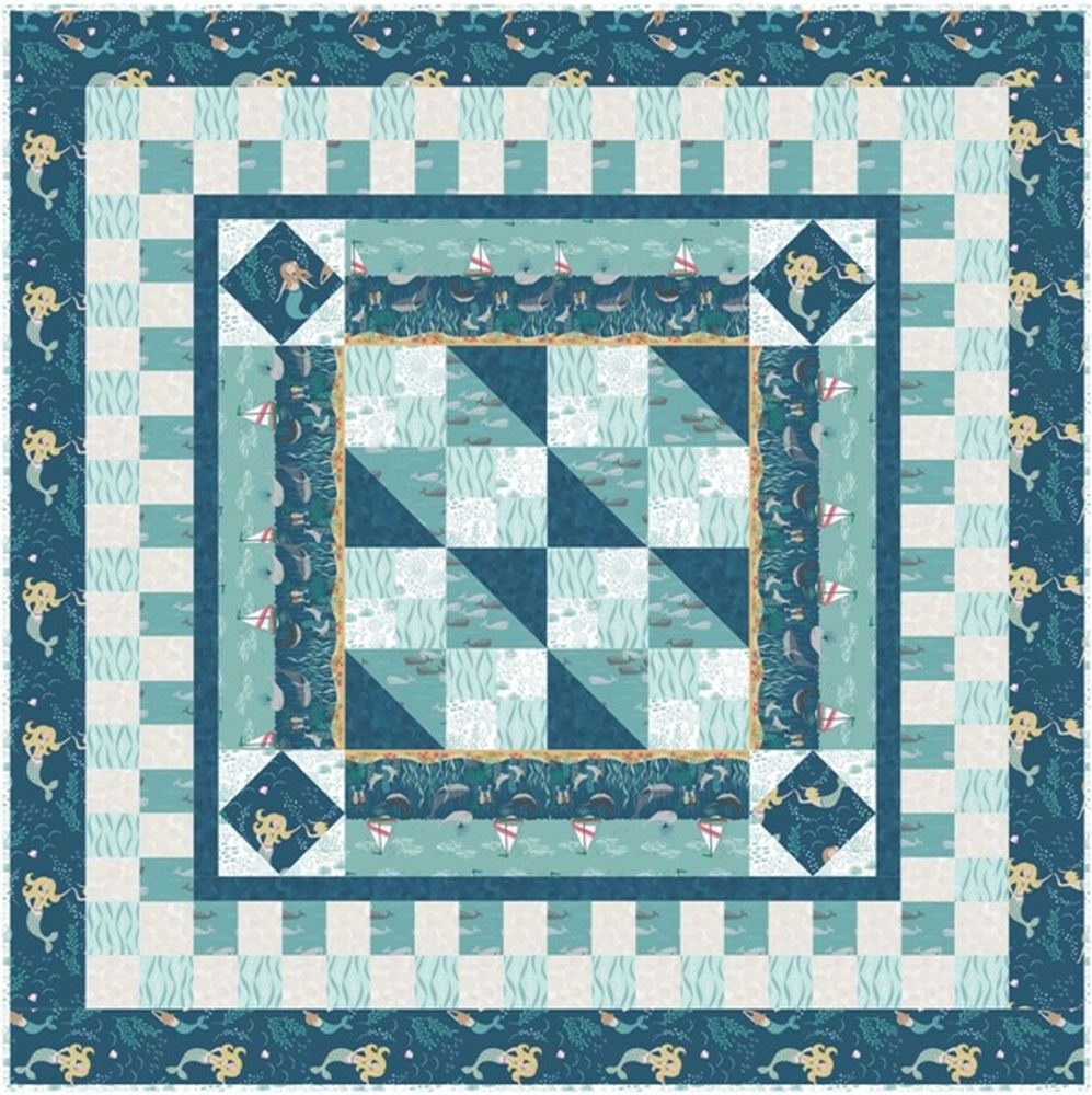 Tales of the sea quilt design 1