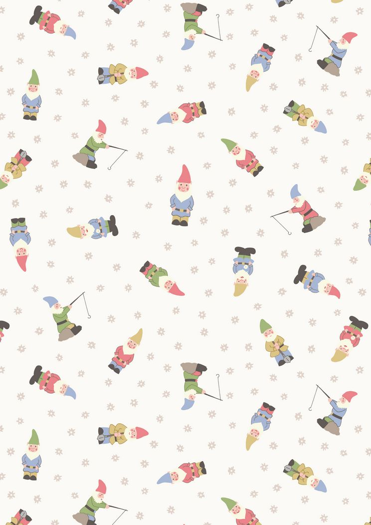 A199.1 - Garden gnomes on white