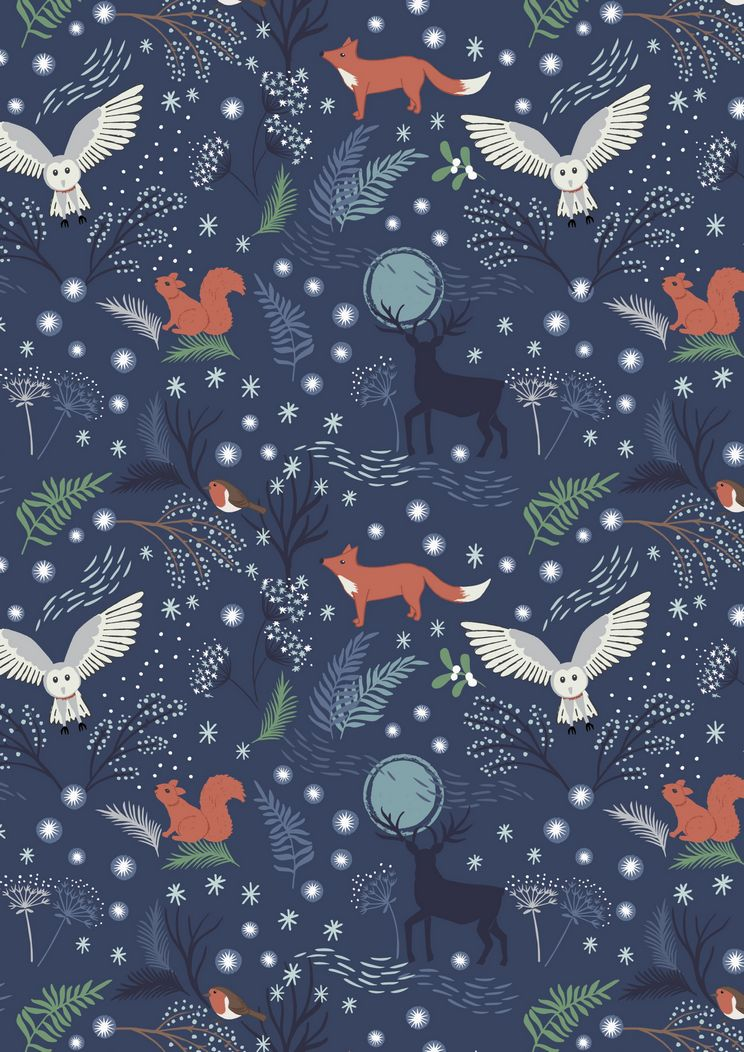 C17.2 - Winter animals midnight