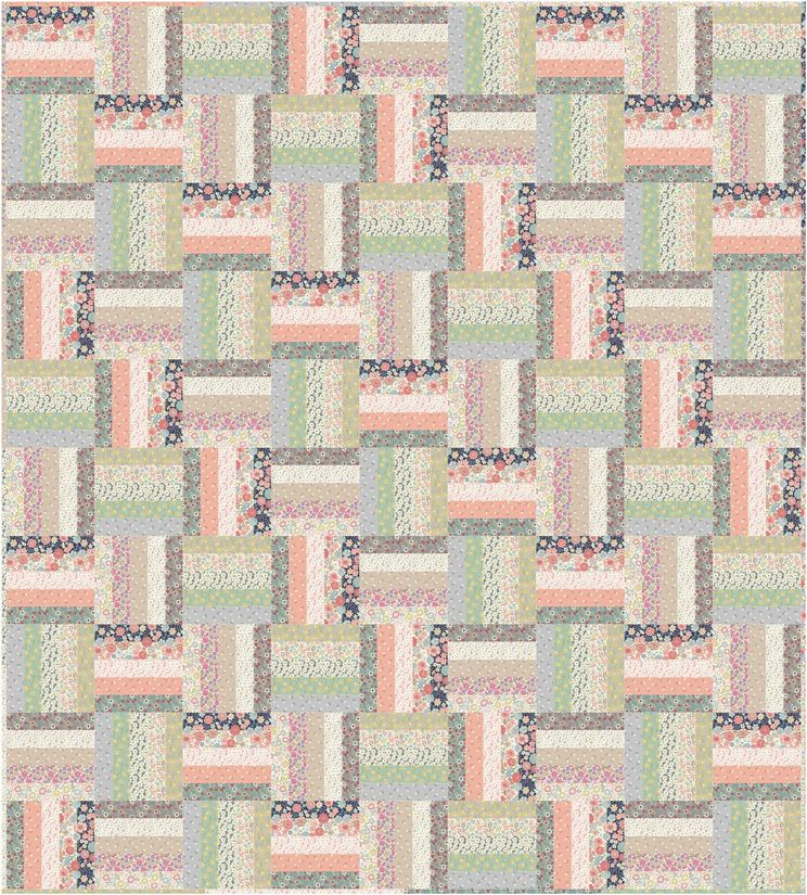 flos little flowers quilt design 2