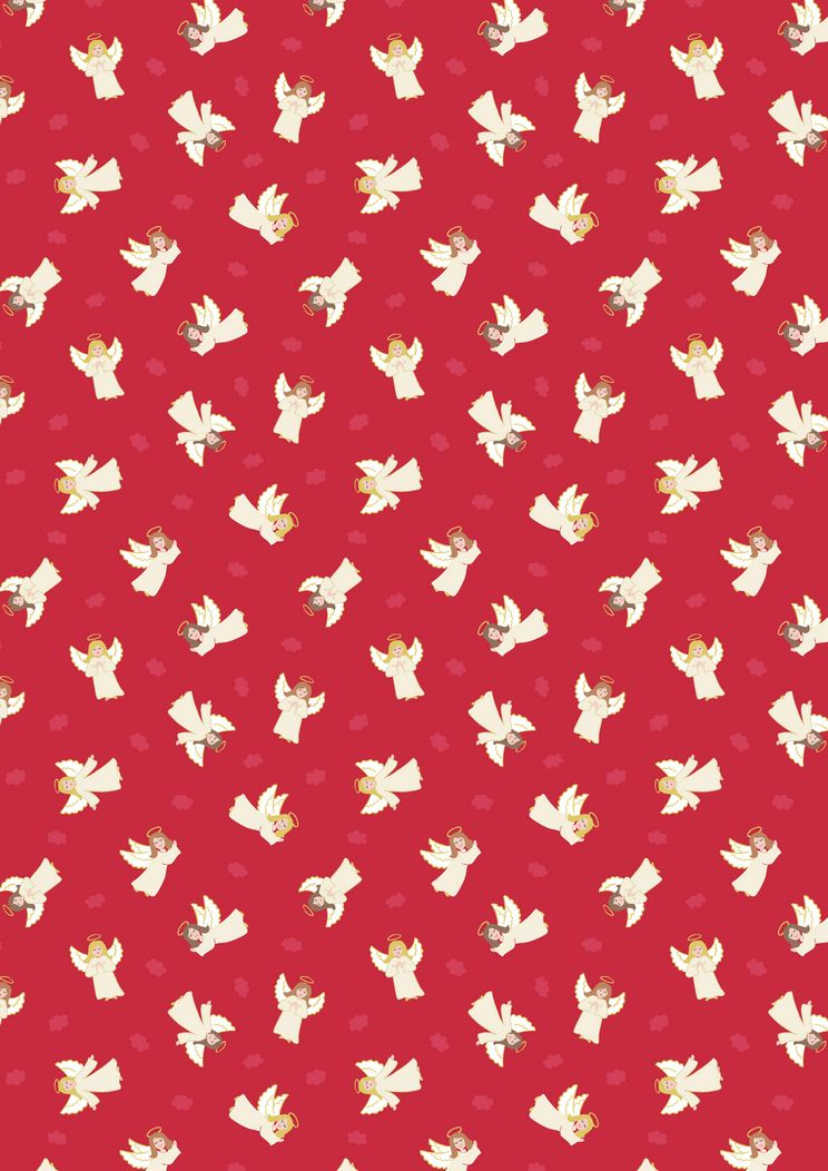 Small Things Lewis /& Irene Christmas Col:3 D#SMC8-100/% Cotton By 1//4 Metre