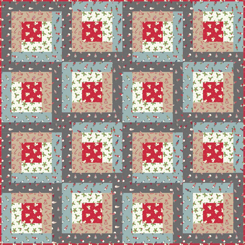 Small Things at Christmas Quilt