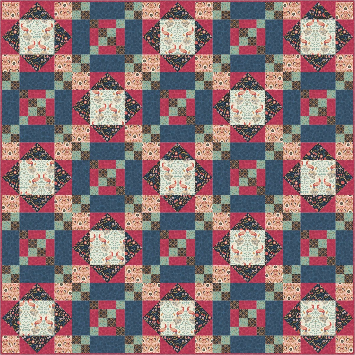 Chieveley Quilt Design 1