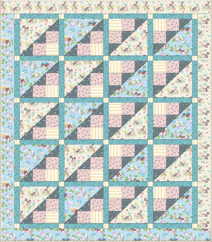 So Darling Quilt Design 1