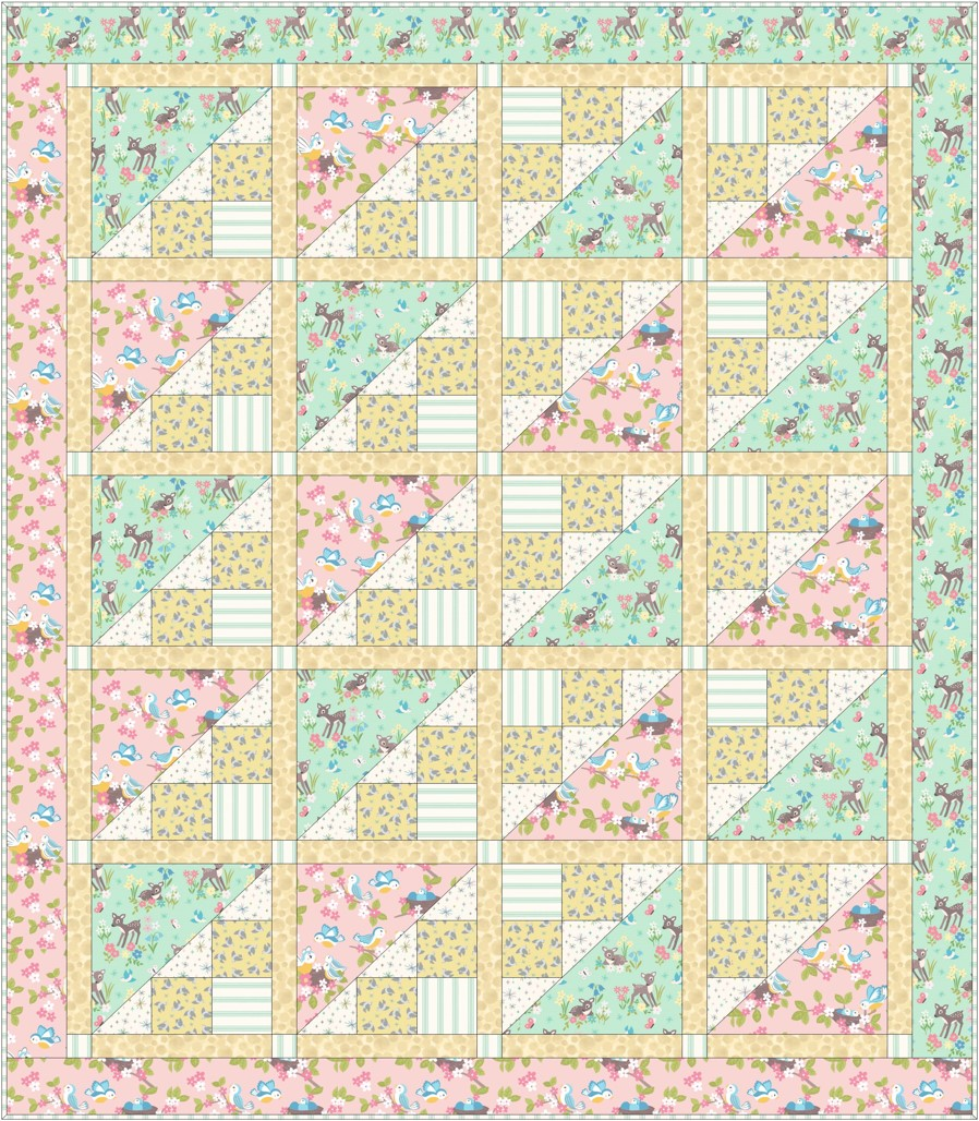 So Darling Quilt Design 2